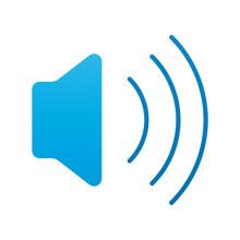 Sound Speaker Audio Flat Style Icon