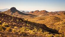 Rugged Desert Landscape Near Oatman Arizona