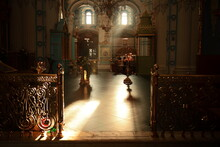 One Of The Great Monasteries Of Russia. New Jerusalem Monastery Interior.