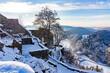 Burg Hohengrundelfingen in weiß