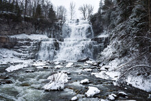 Chittenango Falls In The Winter