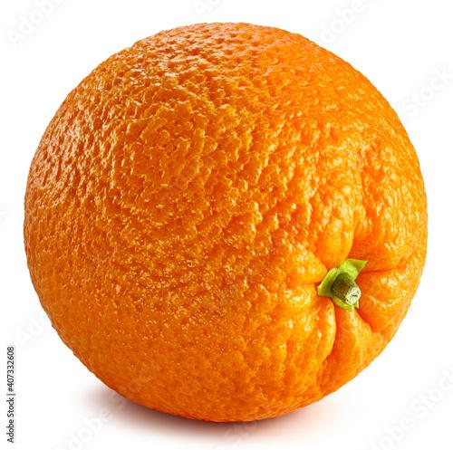 Fotografie, Obraz Orange isolated on white background