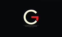 CG GC Abstract Initial Monogram Letter Alphabet Logo Design