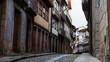 ポルトガル ギマランイスの石畳の路地
