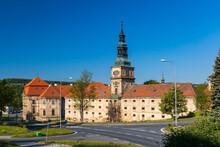 Baroque Cistercian Plasy Monastery, Plzen Region, Czech Republic