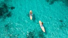 Water Sports At A Tropical Beach