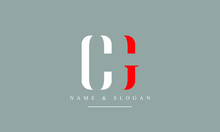 CG, GC, C, G Letter Logo Design With Creative Modern Trendy Typography