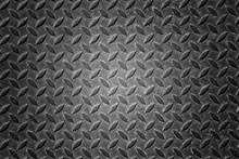 Black Steel Texture Background