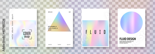 Photo Holographic poster set
