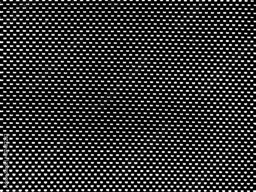 Fototapeta Black metal plate with dots