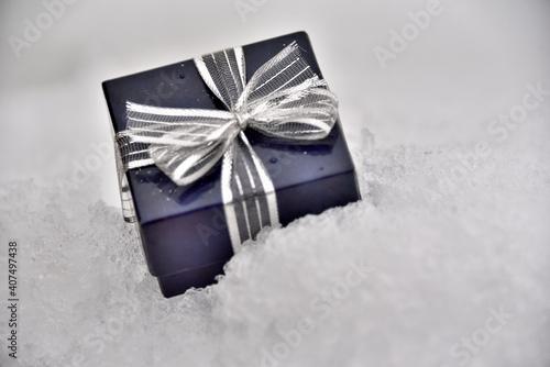 Cadeau glacé Fototapet