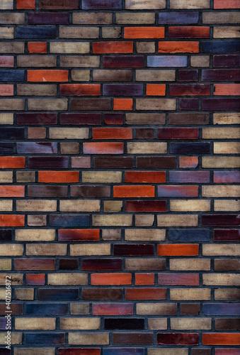 Background pattern of brick wall