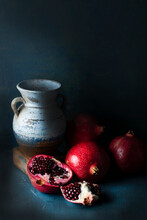 Pomegranate & Old Jug