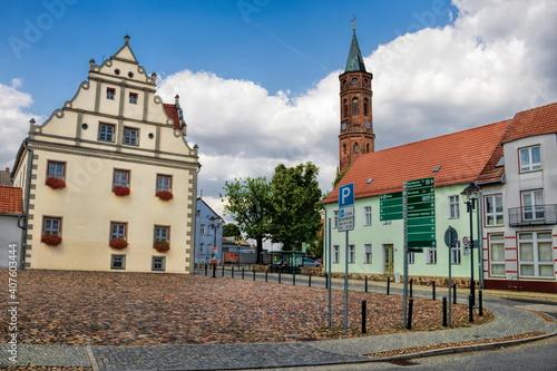 niemegk, deutschland - rathaus und johanniskirche © ArTo