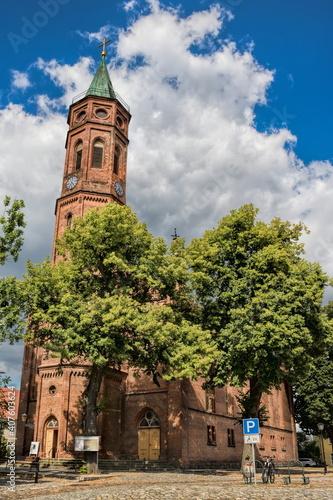 niemegk, deutschland - johanniskirche in der altstadt © ArTo