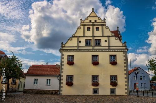 niemegk, deutschland - rathaus in der altstadt © ArTo