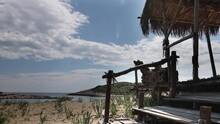 Beach Shack Croatia Castaway Nature Crystal Clear Harbour Adriatic Island