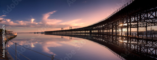 Muelle del tinto Huelva