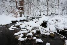 Holtemme In Wernigerode Mit Schnee Und Eis