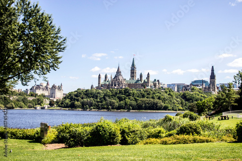 Obraz na plátne Colline du parlement, Ottawa, Ontario, Canada
