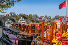 Weekend Getaway From Bustling City Of Shanghai To An Ancient Water Town Of Zhujiajiao To See One Of The Ancient Water Town In China, Where People Call Venice Of The East