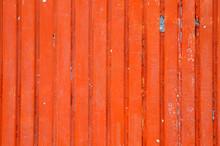 Red Metal Sheet Background