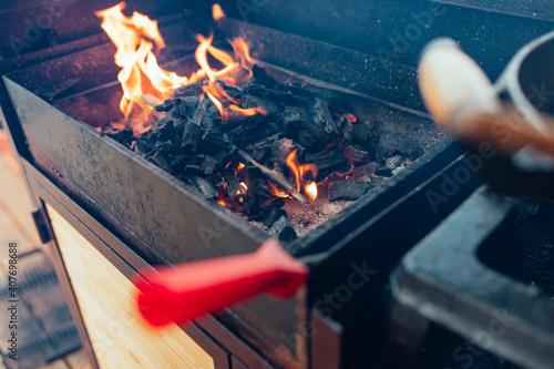 Fotografija Fireside fun