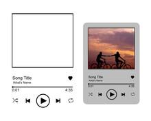 Spotify Glass Art Svg, Spotify Song Glass Template, Music Player Svg, Valentine Svg, Valentine's Day Svg, Digital File Download