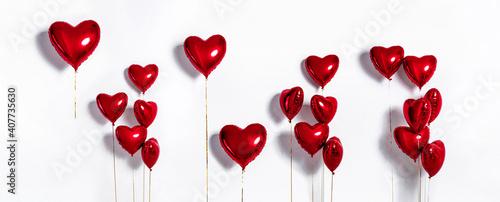 Fényképezés Set of Air Balloons