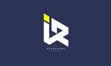 Alphabet Letters Initials Monogram Logo IR, RI, I And R