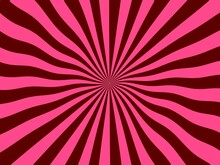 Pink Sunburst Background