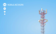 5G Cell Tower Wireless 5th Generation Technology