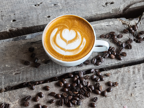 Canvastavla Coffee milk