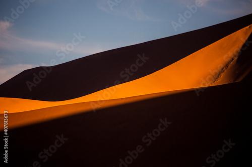 Fotografie, Obraz Sand dunes in Namib Naukluft National Park in Namibia