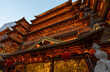 canvas print picture - The traditional ancient architecture in Guangzhou is a big Buddhist temple built in the Southern Han Dynasty