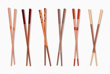Wooden Chinese Sticks Asian Dishes