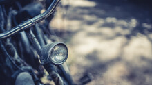 Old Headlight Bicycle