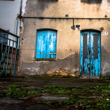 Blue Door Number Seventeen