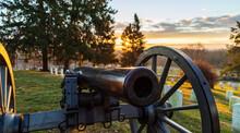 Canons In Gettysburg