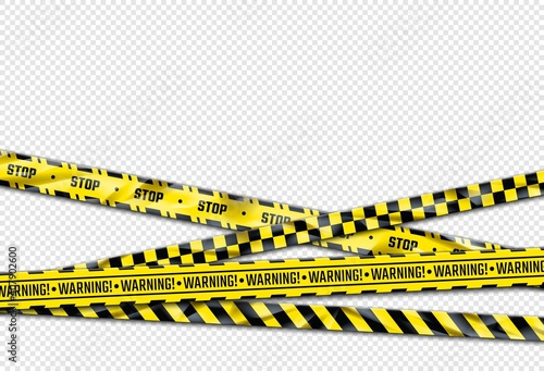 Fotografie, Obraz Warning ribbon