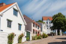 Ronneby Heliga Kors Kyrka From Street