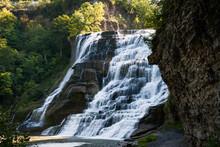 Beautiful Shot Of The Ithaca Falls, Ithaca, NY, USA