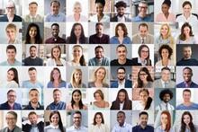 Diverse People Face