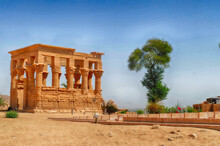 Beautiful View Of Philae Temple In Aswan Egypt