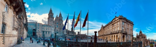 Canvas Plaza Mayor - Santiago de Compostela - Espanha