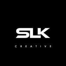 SLK Letter Initial Logo Design Template Vector Illustration