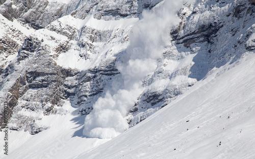 Canvas Winter in alps