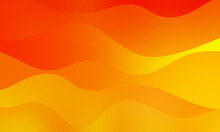 Abstract Soft Liquid Orange Colors Background