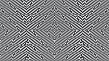 Seamless Pattern With Wavy Lines.Repeating  Unusual Design . Colorful Wave Vector Stripes .Geometric Shape. Infinity Endless Texture