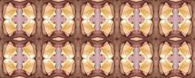 Colorful Motif.  Chocolate Element. Cerise Tiled